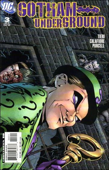 Gotham Underground 3-A by DC