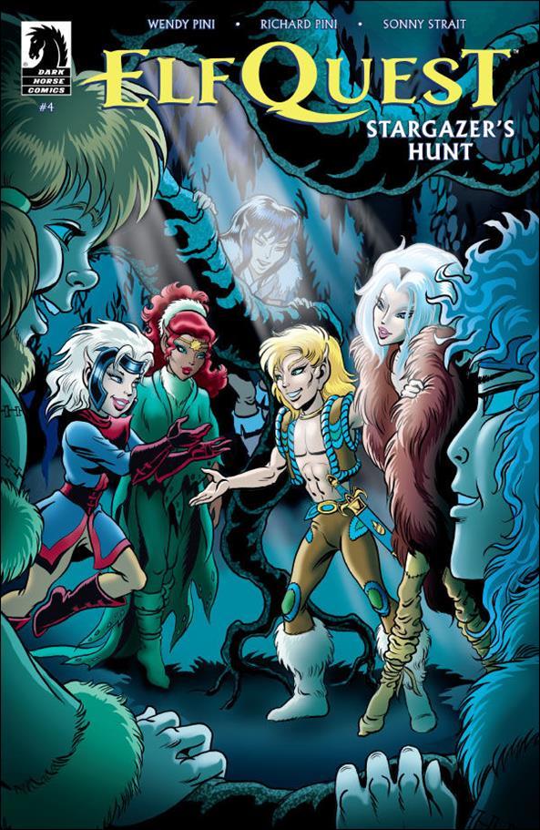ElfQuest: Stargazer's Hunt 4-A by Dark Horse