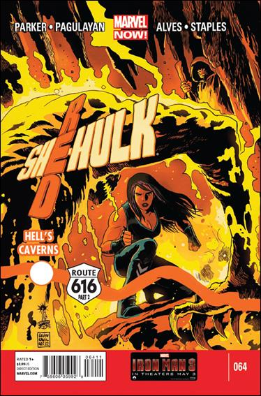 Red She-Hulk 64-A by Marvel