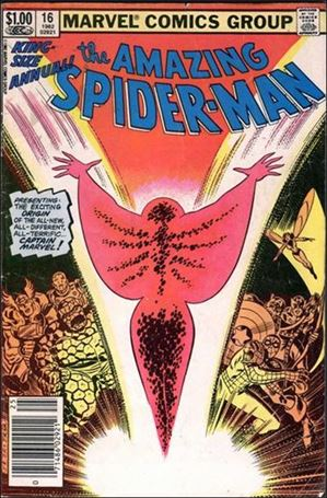 Amazing Spider-Man Annual 16-A