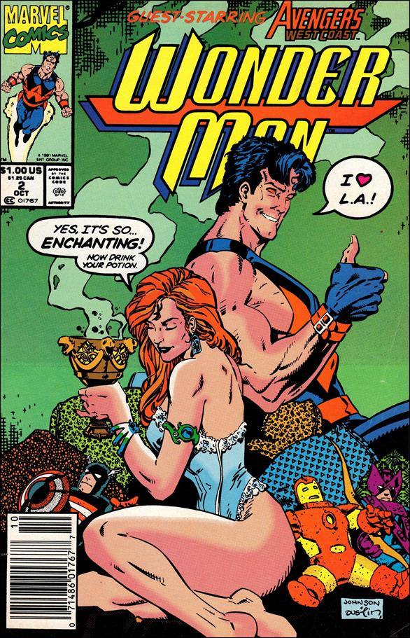 Wonder Man (1991) 2-A by Marvel