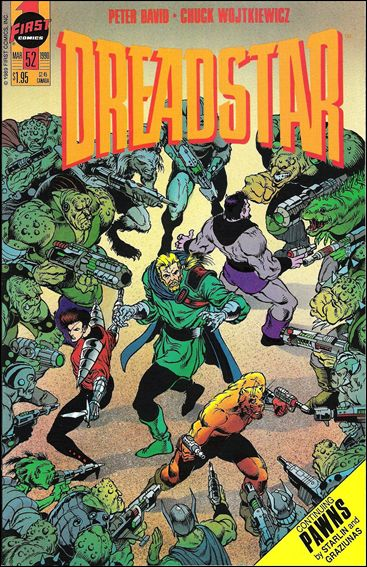 Dreadstar (1982) 52-A by Epic