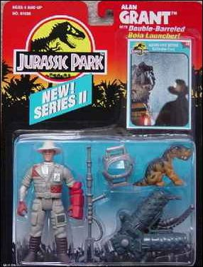 Jurassic Park (Movie) Action Figures Alan Grant (Bola Launcher) (Series 2) by Kenner