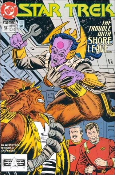 Star Trek (1989) 42-A by DC