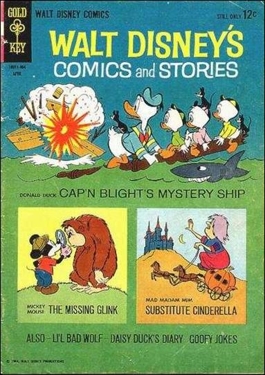 Walt Disney's Comics and Stories (1940) 283-A by Dell