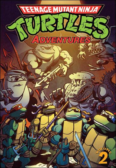 Teenage Mutant Ninja Turtles Adventures (2012)  2-A by IDW