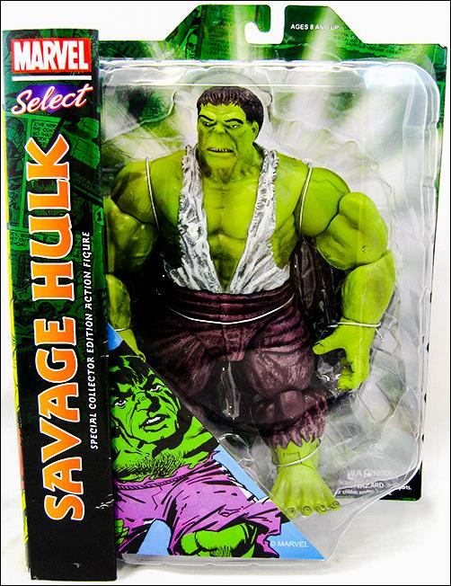 Marvel Select Savage Hulk by Diamond Select