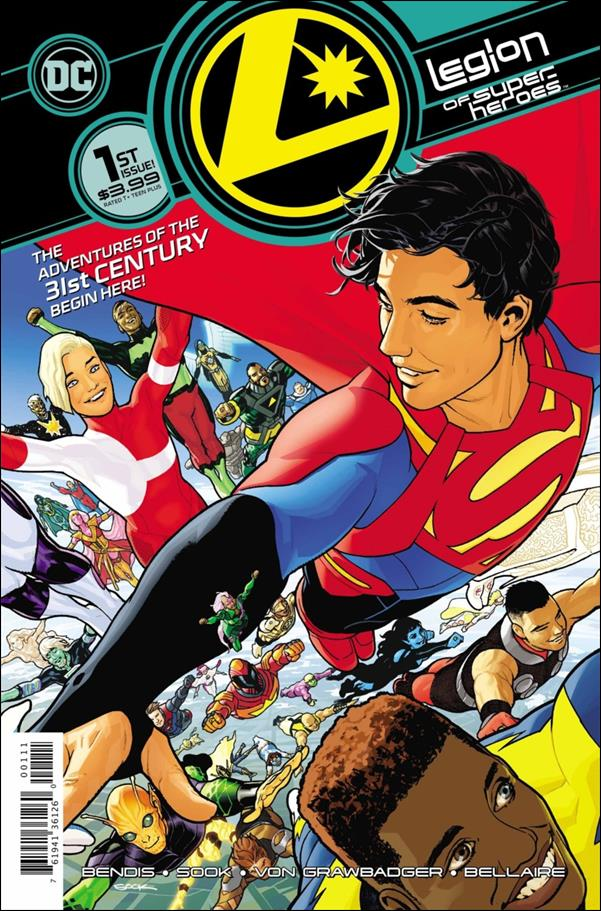Legion of Super-Heroes (2020) 1-A by DC