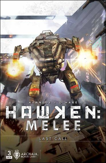 Hawken: Melee 3-A by Archaia Black Label