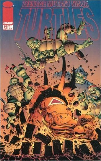 Teenage Mutant Ninja Turtles (1996) 19-A by Image