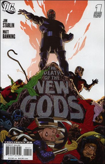 Death of the New Gods 1-B by DC