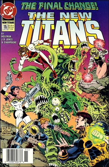 New Titans 115-A by DC