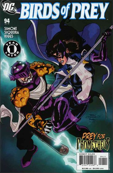 Birds of Prey (1999) 94-A by DC