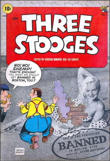 Three Stooges (1953) 6-A by St. John