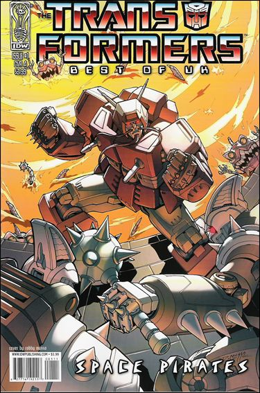 Transformers: Best of UK - Space Pirates 1-A by IDW