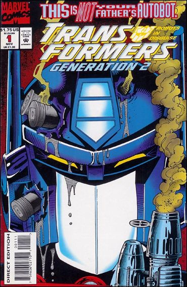 Transformers: Generation 2 (1993) 1-B by Marvel