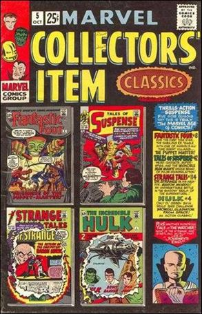 Marvel Collectors' Item Classics 5-A