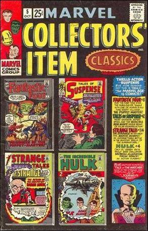 Marvel Collectors' Item Classics 5-A