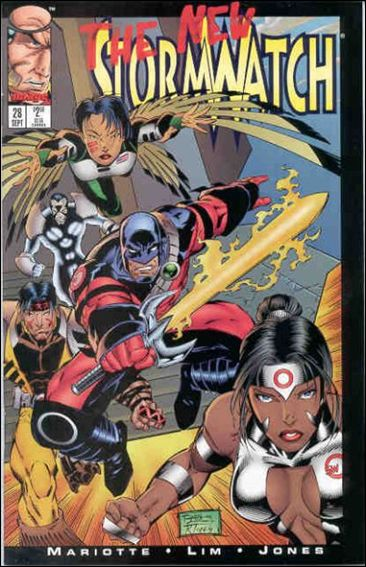 StormWatch (1993) 28-A by Image