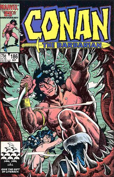 Conan the Barbarian (1970) 186-A by Marvel