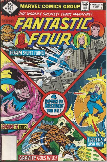 Fantastic Four (1961) 201-B by Marvel