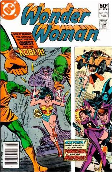 Wonder Woman (1942) 276-A by DC