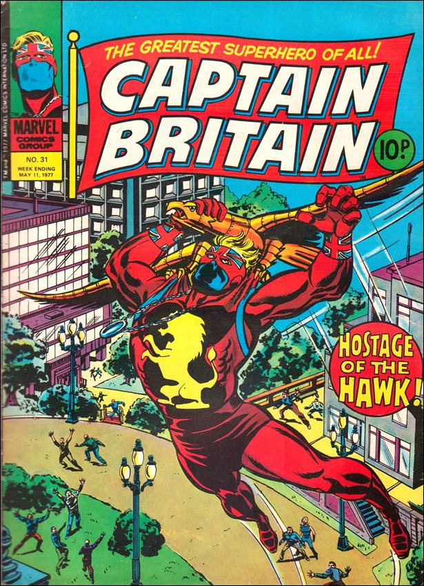 Captain Britain (UK) (1976) 31-A by Marvel UK