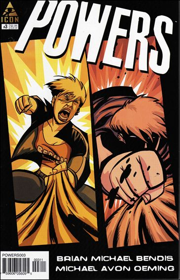 Powers (2004) 3-A by Icon