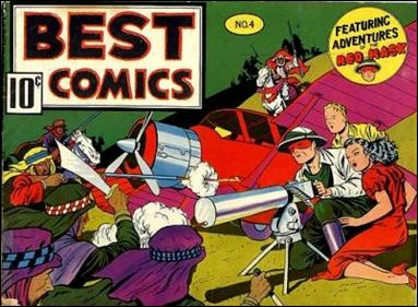 Best Comics 4-A by Better Publications