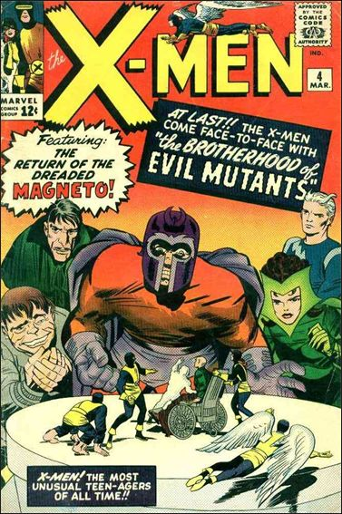X-Men (1963) 4-A by Marvel