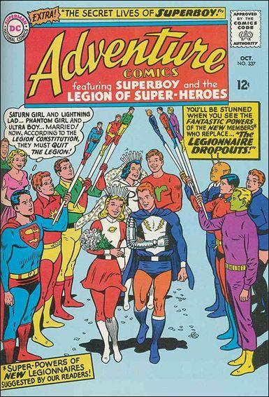 Adventure Comics (1938) 337-A by DC