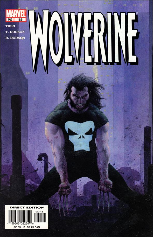 Wolverine (1988)  186-A by Marvel