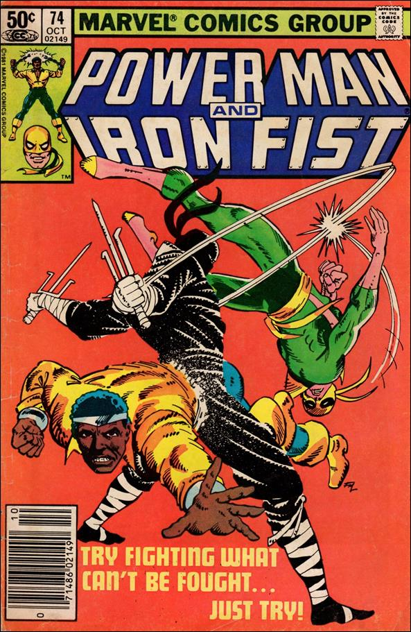 Power Man and Iron Fist (1978) 74-A by Marvel