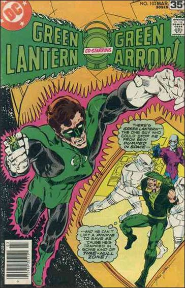 Green Lantern (1960) 102-A by DC