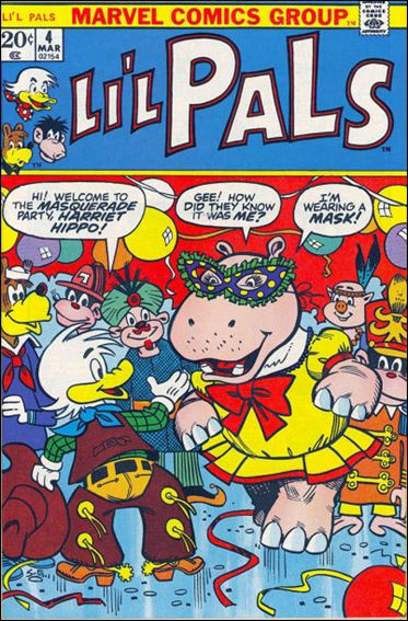 Li'l Pals 4-A by Marvel