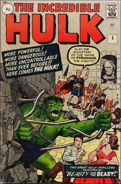 Incredible Hulk (1962) 5-B by Marvel