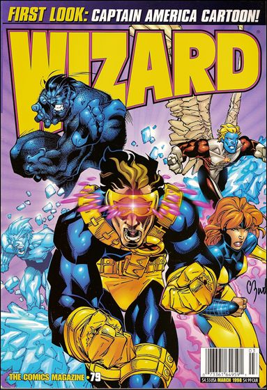 Wizard: The Comics Magazine 79-A by Wizard Press