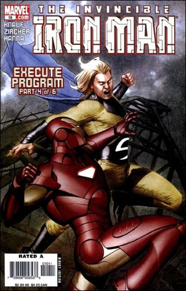 Invincible Iron Man (2005) 10-A by Marvel