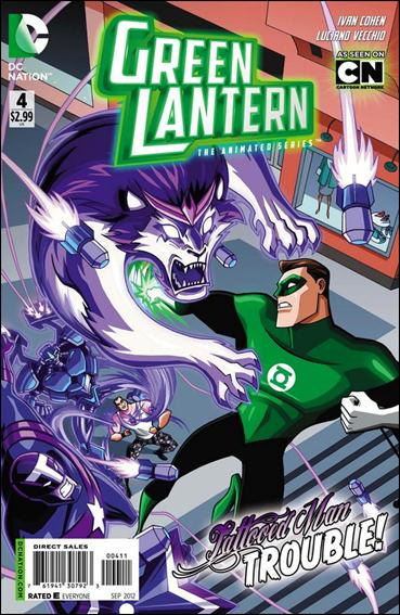 Green Lantern: The Animated Series 4-A by DC