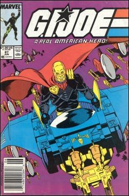 G.I. Joe: A Real American Hero 87-A by IDW