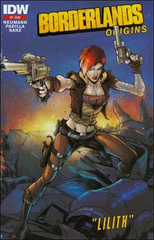 Borderlands: Origins 2-C by IDW