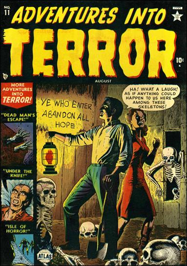 Adventures into Terror 11-A by Atlas