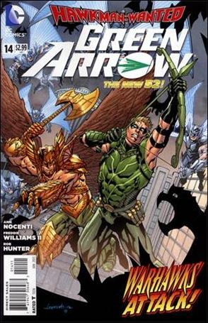 Green Arrow (2011) 14-A