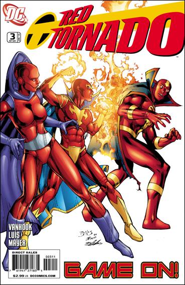 Red Tornado (2009) 3-A by DC