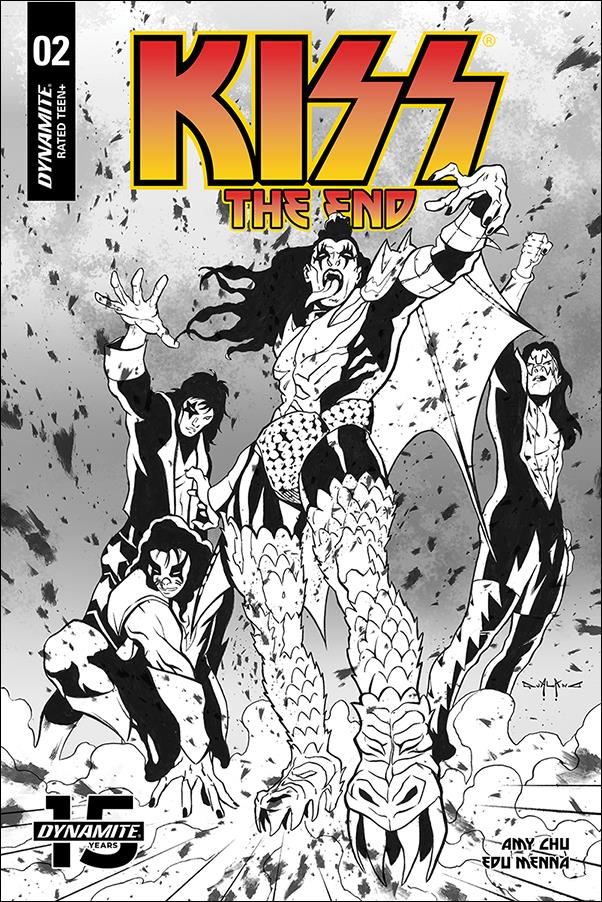 Kiss: The End 2-G by Dynamite Entertainment
