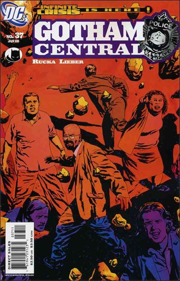 Gotham Central 37-A by DC