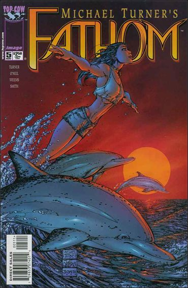 Fathom (1998) 5-A by Top Cow