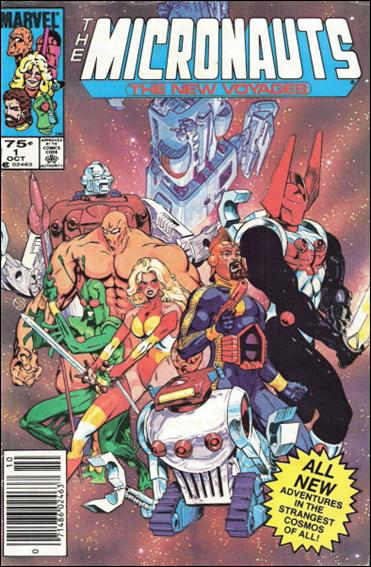 Micronauts (1984) 1-B by Marvel