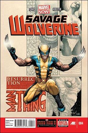 Savage Wolverine 4-A