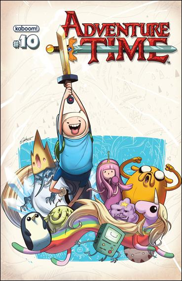 Adventure Time 10-B by Kaboom!